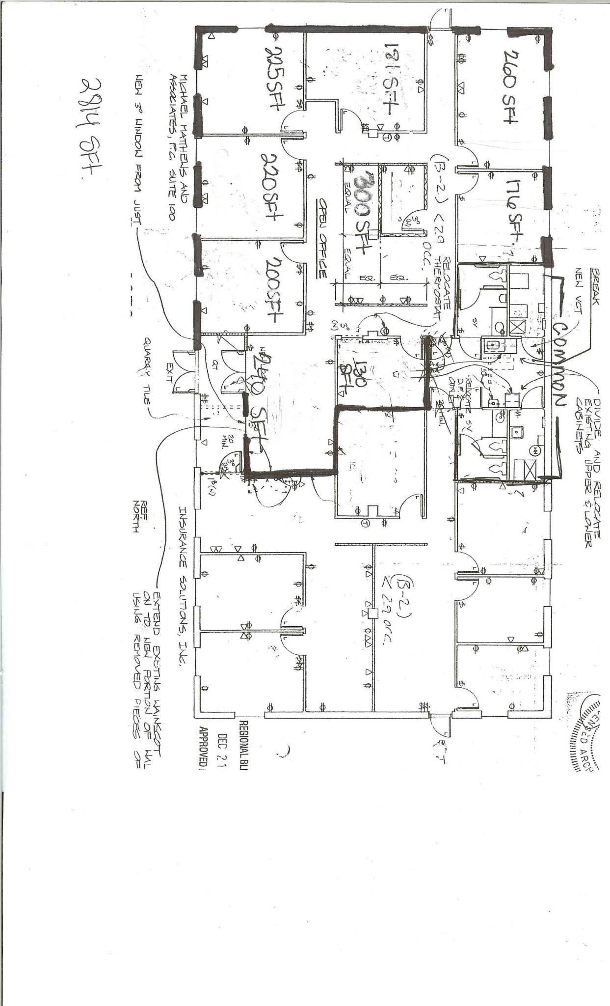 Floor Plan – Suite 100