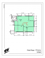 Floor Plan – Suite 101