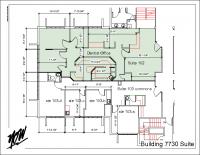Floor Plan – Suite 102