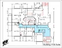 Floor Plan – Suite 103 Commons