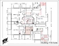 Floor Plan – Suite 103-b