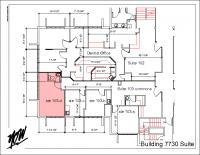 Floor Plan – Suite 103-d