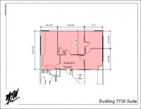 Floor Plan – Suite 201