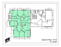 Floor Plan – Suite 201 Large