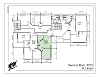 Floor Plan – Suite 201