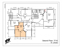 Floor Plan – Suite 202