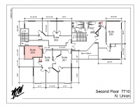 Floor Plan – Suite 203