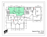 Floor Plan – Suite 204