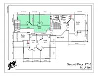 Floor Plan – Suite 204