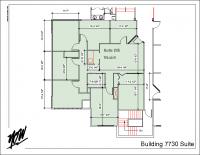 Floor Plan – Suite 205